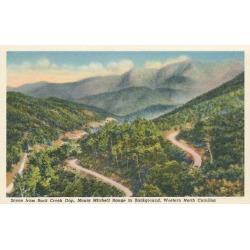 Art Print: Mt. Mitchell Range, 24x16in.