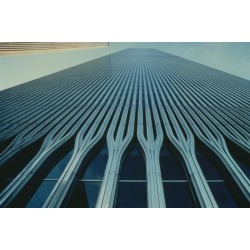 Poster: Yamasaki's The World Trade Center, New York City, 24x16in.