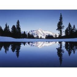 Poster: Frank's California, Yosemite National Park, Mammoth Peak and T