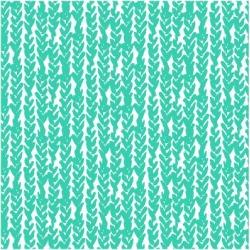 Art Print: tukkki's Hand Drawn Pattern with Hand Painted Braids, 12x1