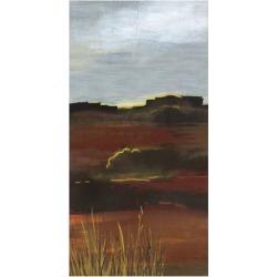 Giclee Painting: Bernsen's West Range, 28x16in.
