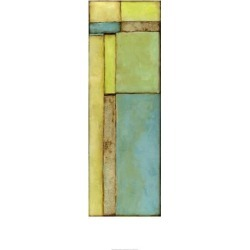 Limited Edition Art: Goldberger's Stained Glass Window VI, 48x24in.