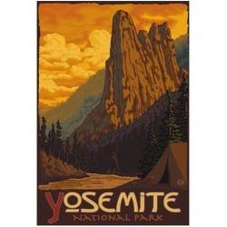 Poster: Sentinel, Yosemite National Park, California, 19x13in.