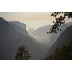 Poster: Friel's California, Yosemite National Park, Artists Point, El