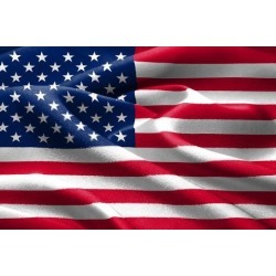 Poster: Xtremer's American Flag, 24x16in.