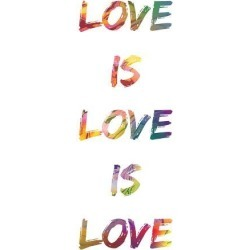 Poster: Love Is Love Is Love, 19x13in. found on Bargain Bro India from Allposters.com for $6.39