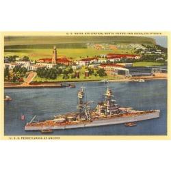 Art Print: Art Print: Naval Air Station, North Island Art Print, 16x12