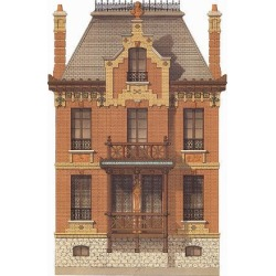 Art Print: Victorian House, No. 7, 24x18in.