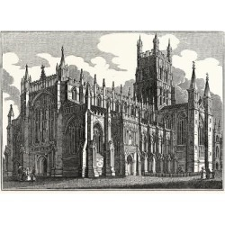 Giclee Painting: Gloucester Cathedral, UK, 24x18in. found on Bargain Bro India from Allposters.com for $27.99