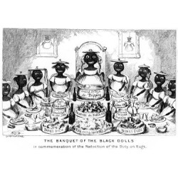 Giclee Painting: Cruikshank's The Banquet of the Black Dolls, 19th Cen