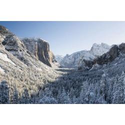Poster: Gallery's USA, California, Yosemite National Park. Yosemite Va