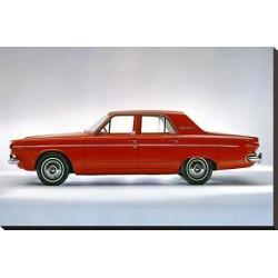 Stretched Canvas Print: 1964 Dodge Dart 270 4 Door, 20x29in.