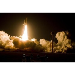 Photo Print: Poster: Shuttle Discovery Launch Poster, 36x24in.