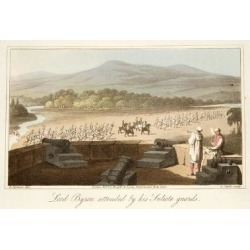 Giclee Painting: Seymour's Lord Byron Attended by His Suliote Guards,