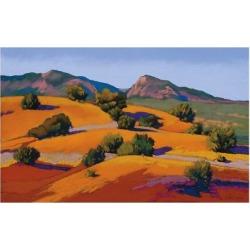 Art Print: Silverwood's Juniper Hills, 24x16in.