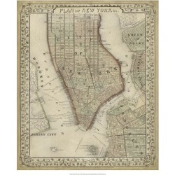 Giclee Painting: Mitchell's Plan of New York, 26x22in. found on Bargain Bro from Allposters.com for USD $31.53
