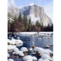 Poster: Jaynes Gallery's USA, California, Yosemite National Park. Wint