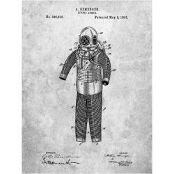 Art Print: Borders' Hemenger Diving Armor, 24x18in.