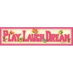 Art Print: Middlebrook's Play Laugh Dream, 5x20in.