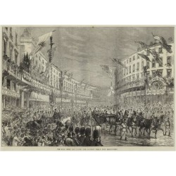 Giclee Painting: The Royal Entry into London, the Procession Passing D found on Bargain Bro Philippines from Allposters.com for $30.00