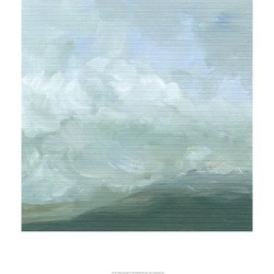 Stretched Canvas Print: Harper's Art Print: Mountain Mist Wall Art by
