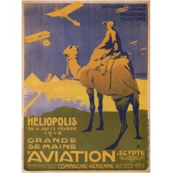 Art Print: Harald's Grande Semaine D'Aviation, 24x18in. found on Bargain Bro India from Allposters.com for $37.99