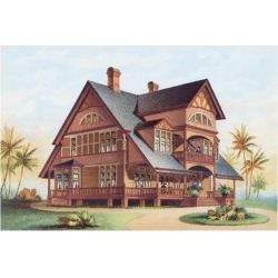 Art Print: Victorian House, No. 14, 12x16in.