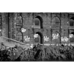 Photo Print: Love Graffiti Brooklyn New York, 24x16in. found on Bargain Bro Philippines from Allposters.com for $50.99