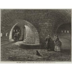Giclee Painting: The Crimea Revisited, Interior of the Round Tower of