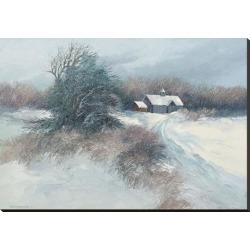 Stretched Canvas Print: Swayhoover's Dovetail Farm, 32x45in.