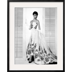 "Framed Art: Audrey Hepburn. ""Sabrina Fair"" 1954, ""Sabrina"" Directed by"