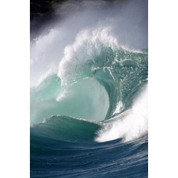 Poster: Photo's Crashing Wave, 24x16in.