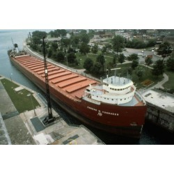 Poster: Bulk Iron Ore Carrier, Great Lakes Carriers, 24x16in.