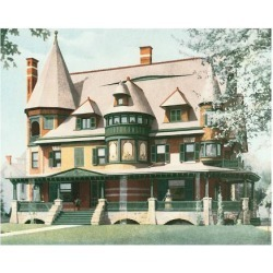 Art Print: Victorian House, No. 12, 12x16in.