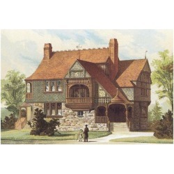 Art Print: Victorian House, No. 15, 12x16in.