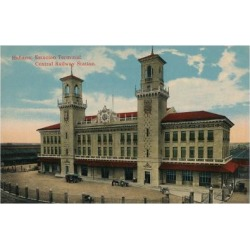 Giclee Painting: Havana Central Railway Station, Cuba, C1912, 24x16in.