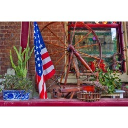 Poster: Rouse's American Flag, 24x16in.