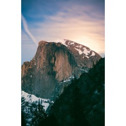 Poster: James' Moon Light Mood, Half Dome, Yosemite National Park, Hik
