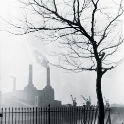 Giclee Painting: Grant's Battersea Power Station, 24x24in.