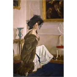 Giclee Painting: Serov's Portrait of Princess Olga Orlova, 1911, 24x16 found on Bargain Bro Philippines from Allposters.com for $58.99