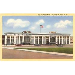 Art Print: Pennsylvania Station, Newark, New Jersey, 24x18in.