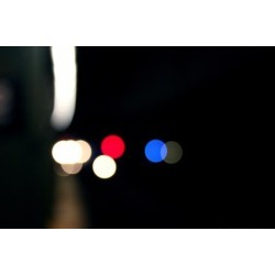 Photo Print: Subway Lights New York City, 24x16in.