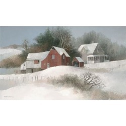 Giclee Painting: Swayhoover's Bayberry Farm, 32x52in.
