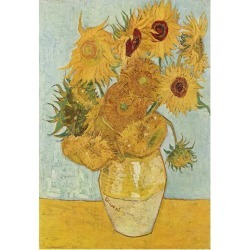 Poster: Vincent Van Gogh (Vase with Twelve Sunflowers) Art Poster Prin found on Bargain Bro from Allposters.com for USD $6.07