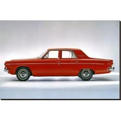 Stretched Canvas Print: 1964 Dodge Dart 270 4 Door, 29x44in.