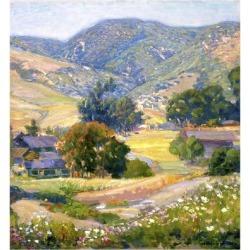 Art Print: Kleitsch's Jeweled Hills, 24x24in.