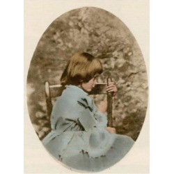 Giclee Painting: Science Source's Alice Liddell, Alice's Adventures in
