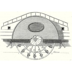 Giclee Painting: Impeller of a Steamboat, 24x18in. found on Bargain Bro India from Allposters.com for $27.99