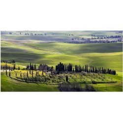 Art Print: Ratsenskiy's Country Houses in Tuscany, 20x38in.