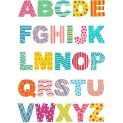Art Print: Nohren's Alphabet, 32x24in. found on Bargain Bro Philippines from Allposters.com for $17.99
